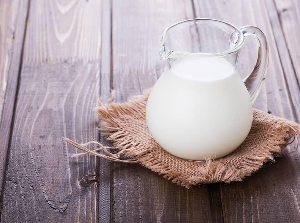Milchprodukte der Molkerei Rücker