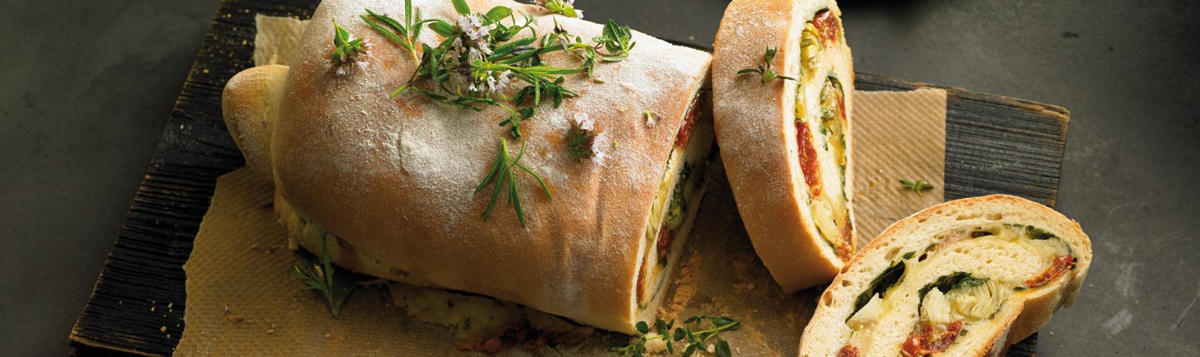 Nordberger Kräuter-Käse-Brot