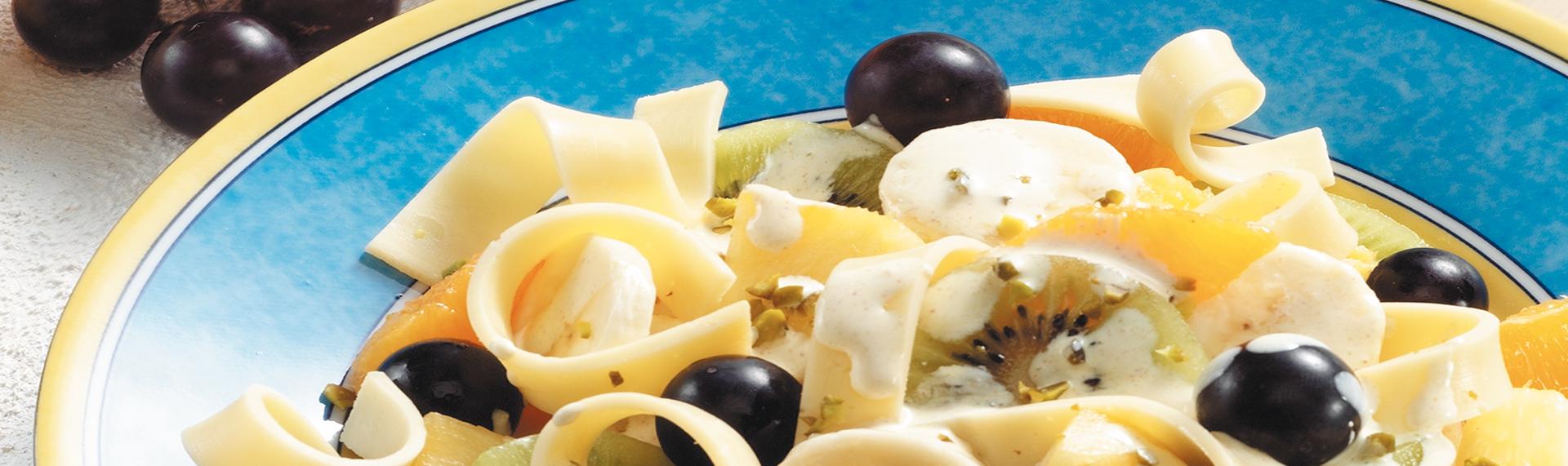 Rezept Fruchtiger Käsesalat