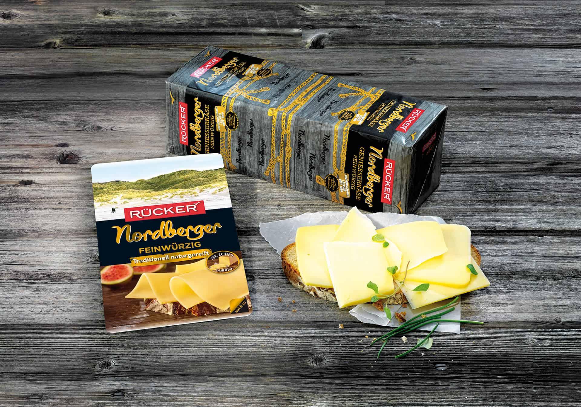Nordberger naturgereifter Käse von Rücker