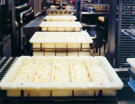 Produktion Hirtenkäse