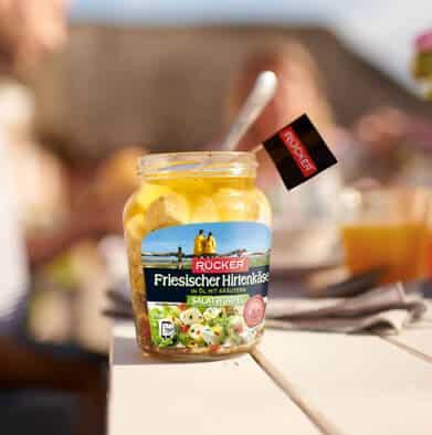 Salatwürfel Friesischer Hirtenkäse