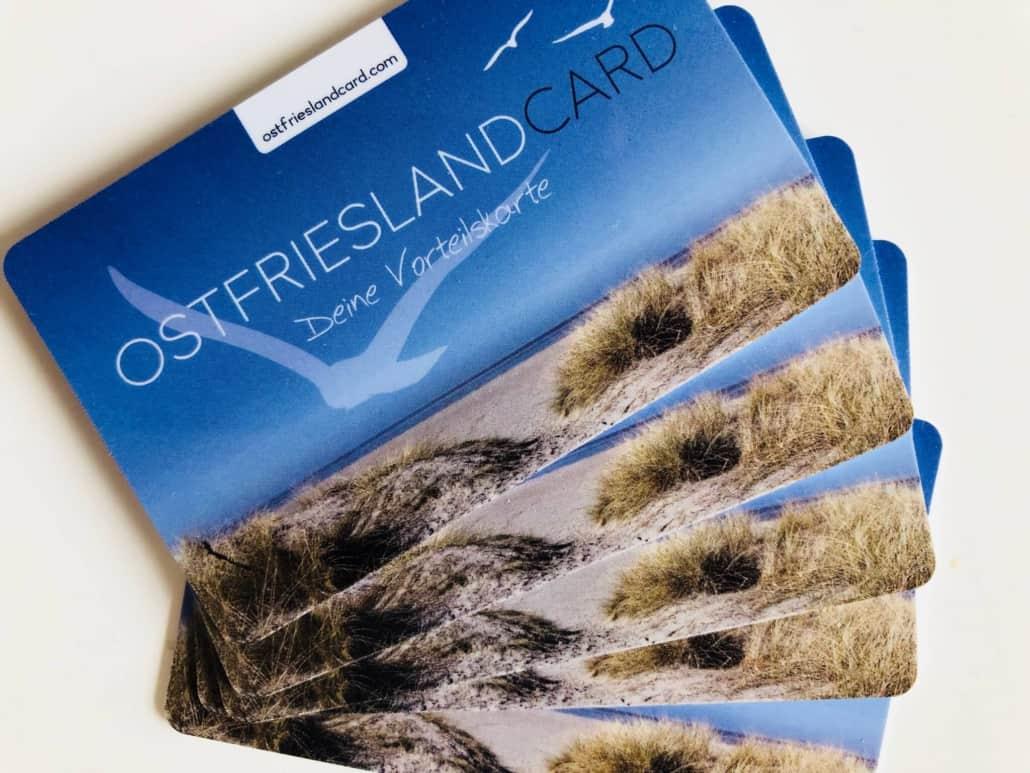 Vorteilskarte Ostfriesland Card