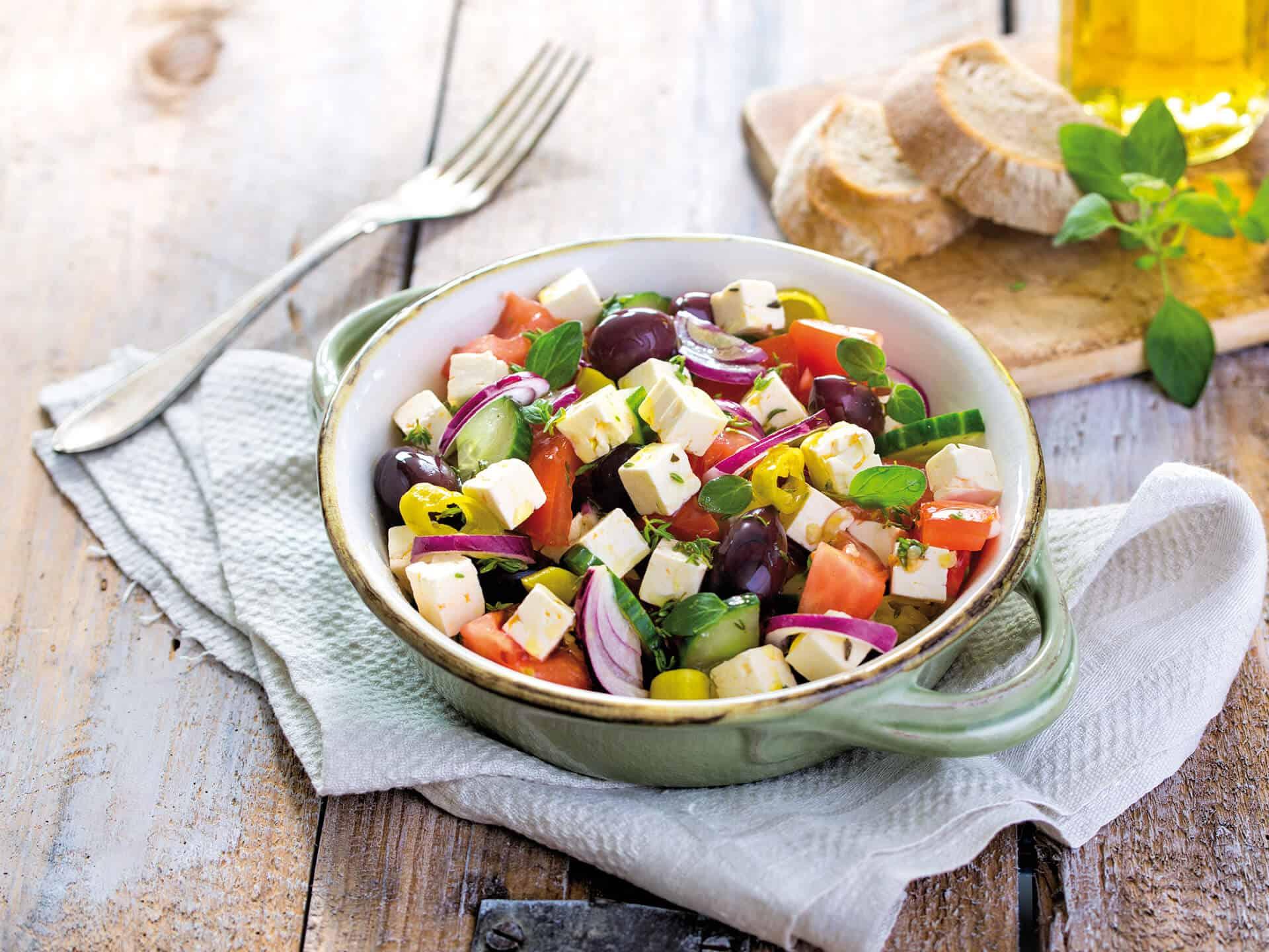 Friesischer Salat, ideal für den Frühling