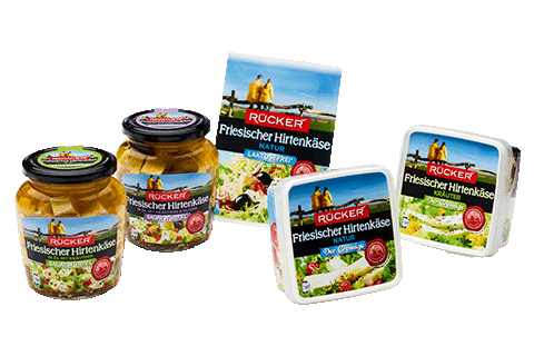 Hirtenkäse Produkte der Molkerei Rücker