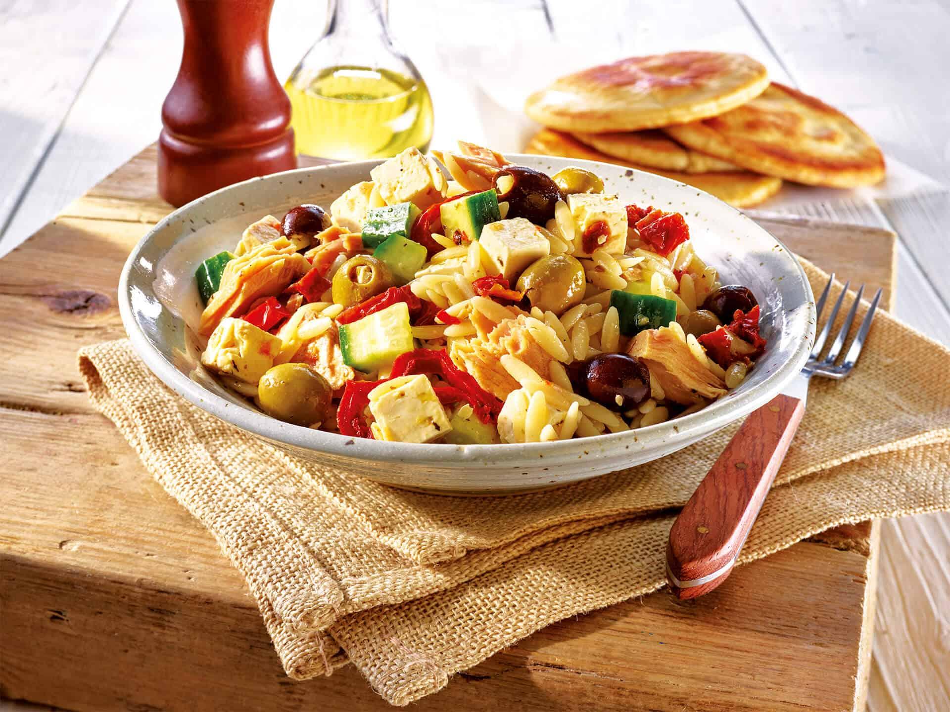 Leichter Salat für die Grillzeit