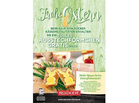 Frohe Ostern Plakat