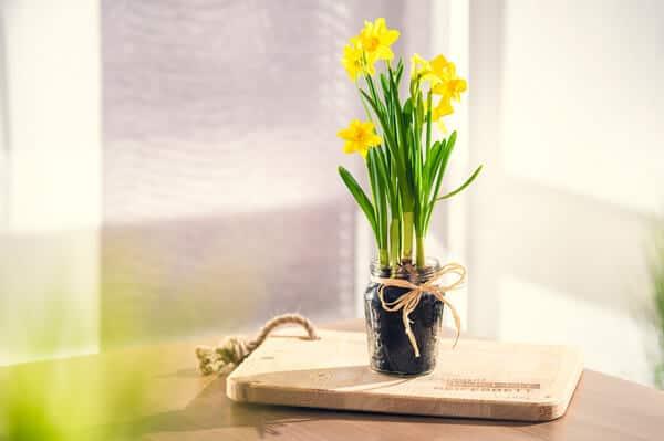 Upcycling - aus einem Glas wird eine Vase