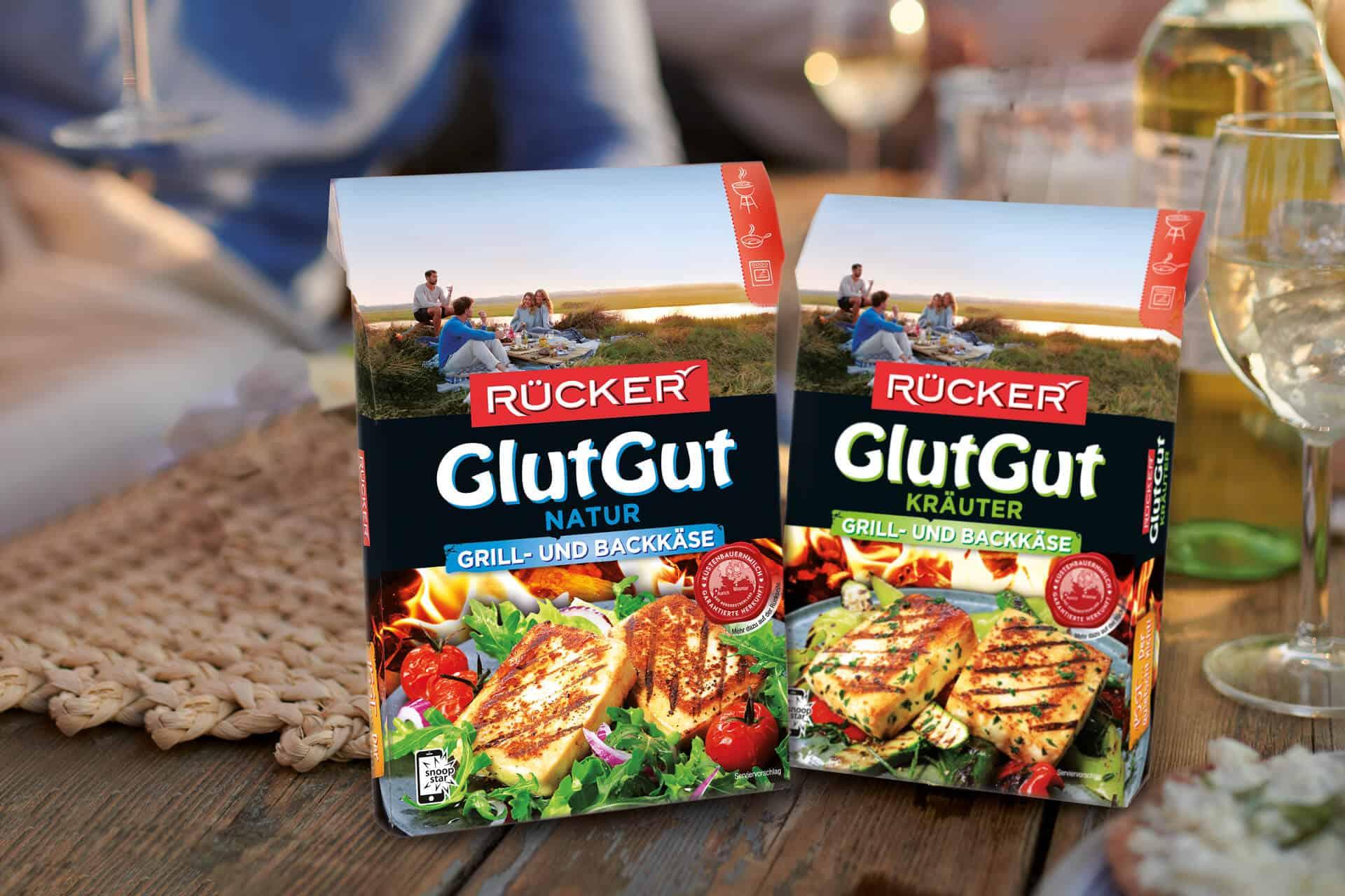 Vegetarisch Grillen mit GlutGut von RÜCKER