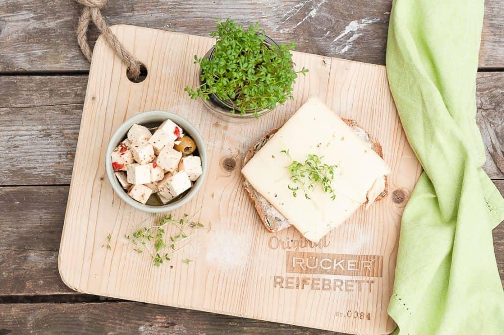 Käse und Brot die perfekte Kombination