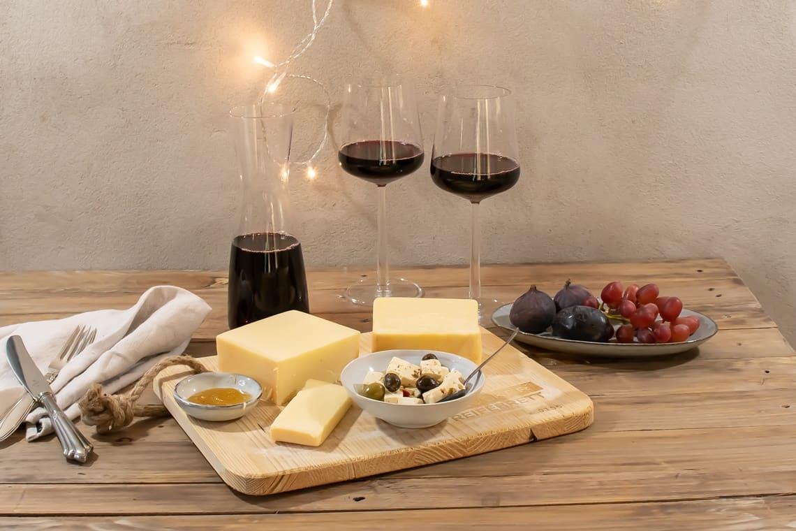 Käse und Wein kombinieren