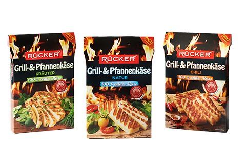 Packshot RÜCKER Grill- und Pfannenkäse Range