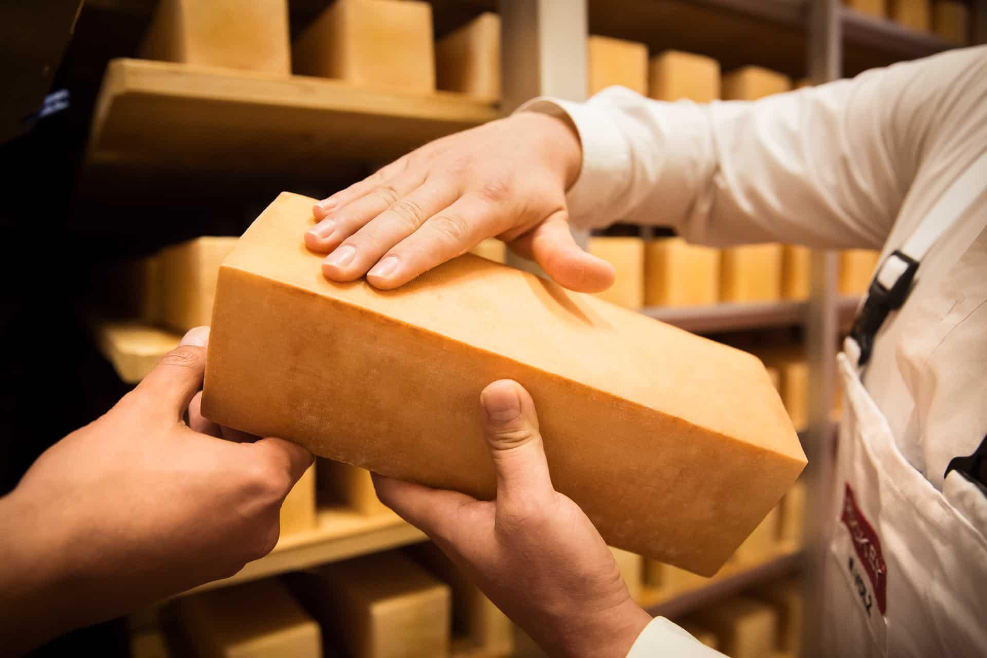 Naturgereifter Käse und Rotkulturen