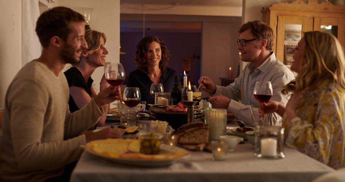 Raclette-am-Abend